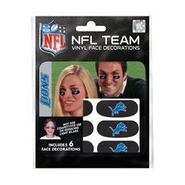 Detroit Lions Eye Black Strips