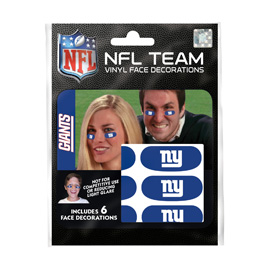 New York Giants Eye Black Strips