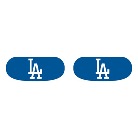 Los Angeles Dodgers Face Decorations