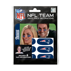 New England Patriots Eye Black Strips