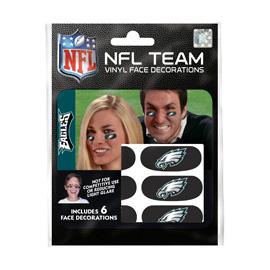 Philadelphia Eagles Eye Black Strips