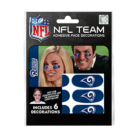 Los Angeles Rams Eye Black Strips