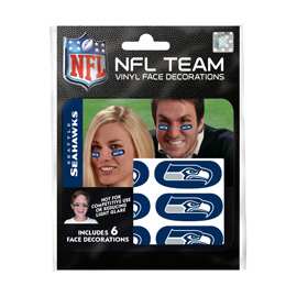 Seattle Seahawks Eye Black Strips