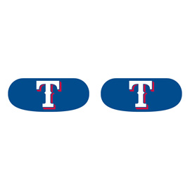 Texas Rangers Face Decorations