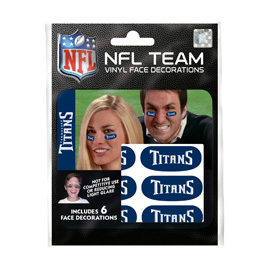 Tennessee Titans Eye Black Strips