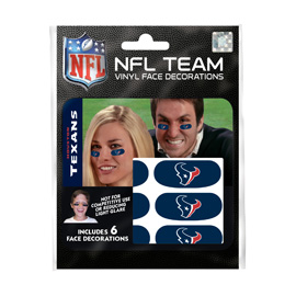 Houston Texans Eye Black Strips
