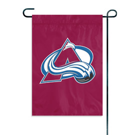 Colorado Avalanche Garden / Window Flag