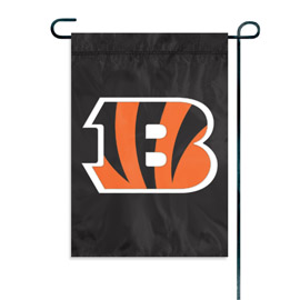Cincinnati Bengals Garden / Window Flag
