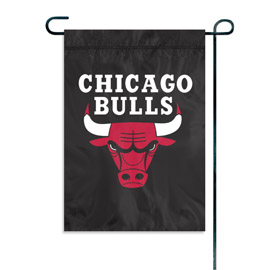 Chicago Bulls Garden / Window Flag