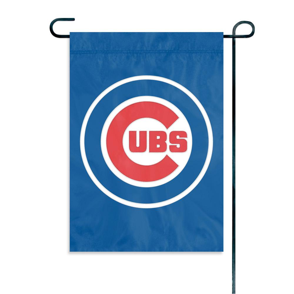 chicago cubs premium garden flag