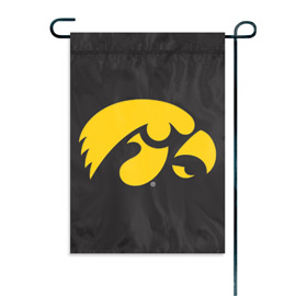 Iowa Hawkeyes Garden / Window Flag