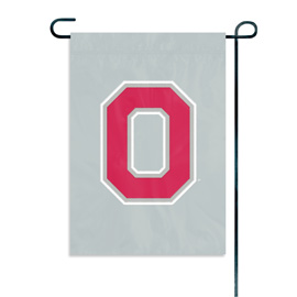 Ohio State Buckeyes Garden / Window Flag