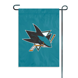 San Jose Sharks Garden / Window Flag