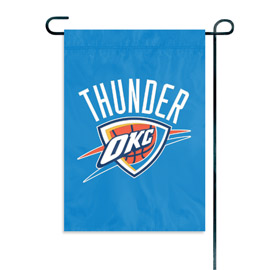 Oklahoma City Thunder Garden / Window Flag