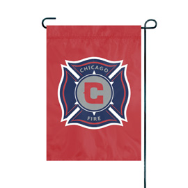 Chicago Fire Premium Garden Flag