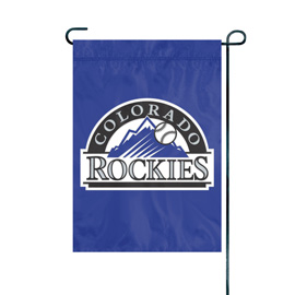 Colorado Rockies Premium Garden Flag