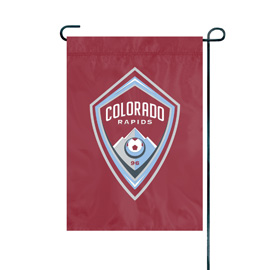 Colorado Rapids Premium Garden Flag