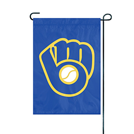 Milwaukee Brewers Premium Garden Flag
