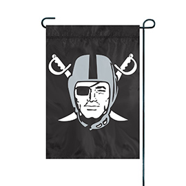 Oakland Raiders Premium Garden Flag