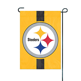 Pittsburgh Steelers Premium Garden Flag - Gold