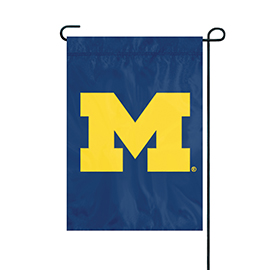 Michigan Wolverines Premium Garden Flag