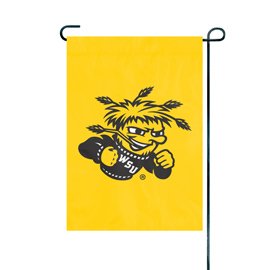Wichita State Shockers Premium Garden Flag