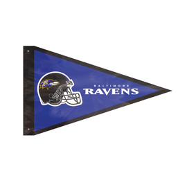 Baltimore Ravens Giant Pennant Flag