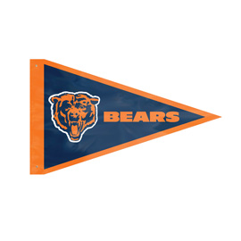 Chicago Bears Giant Pennant Flag