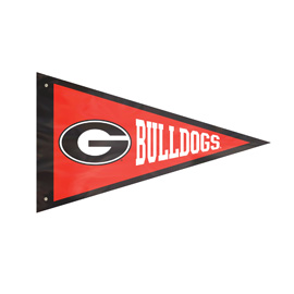 Georiga  Bulldogs Giant Pennant Flag