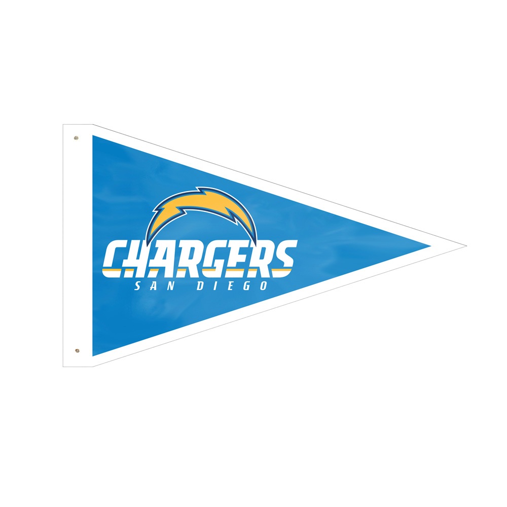 San Diego Chargers Banner: San Diego Chargers Giant Pennant Flag