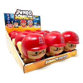 Los Angeles Angels Jumbo Squeezy 12pc Display