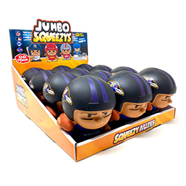 Baltimore Ravens Jumbo Squeezy 12pc Display