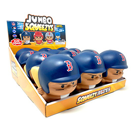 Boston Red Sox Jumbo Squeezy 12pc Display