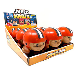 Cleveland Browns Jumbo Squeezy 12pc Display