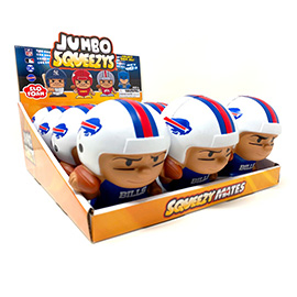 Buffalo Bills Jumbo Squeezy 12pc Display