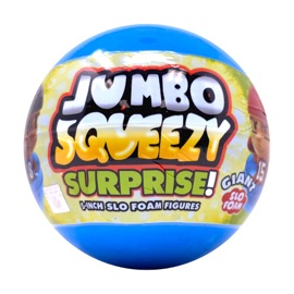 Jumbo Squeezy Surprise! Giant Capsule
