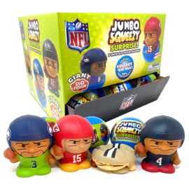Jumbo Squeezy Capsule Display - 18 ct