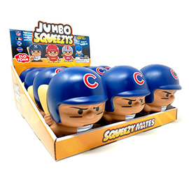 CHICAGO CUBS Jumbo Squeezy 12pc Display - Javier Baez