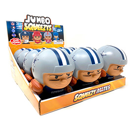 Dallas Cowboys Jumbo Squeezy 12pc Display