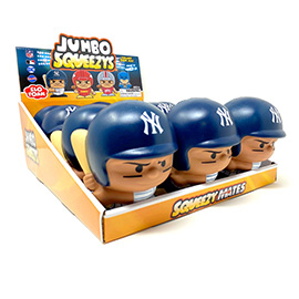 New York Yankees Jumbo Squeezy 12pc Display - Aaron Judge