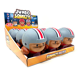Ohio State Jumbo Squeezy 12pc Display
