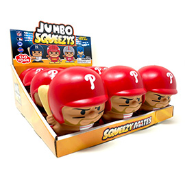 Philadelphia Phillies Jumbo Squeezy 12pc Display - Bryce Harper