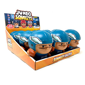 Philadelphia Eagles Jumbo Squeezy 12pc Display
