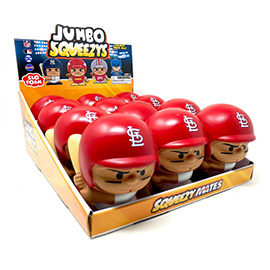 St. Louis Cardinals Jumbo Squeezy 12pc Display - Yadier Molina
