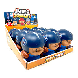 Tennessee Titans Jumbo Squeezy 12pc Display