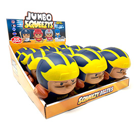 University of Michigan Jumbo Squeezy 12pc Display