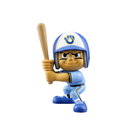 Milwaukee Brewers Lil Teammates Throwback Batter