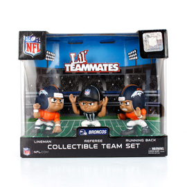 Denver Broncos Lil' Teammates Team Set