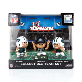 New York Jets Lil' Teammates Team Set