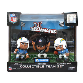 Los Angeles Chargers Lil' Teammates Team Set